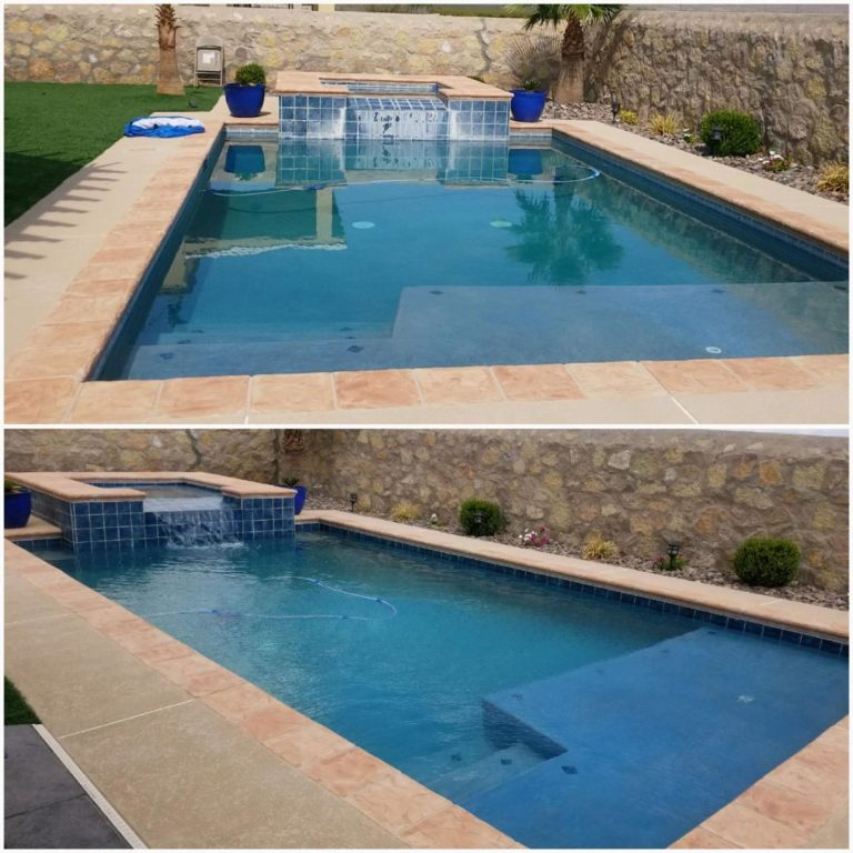 Texas EnviroBlast Pool Tile Cleaning Service